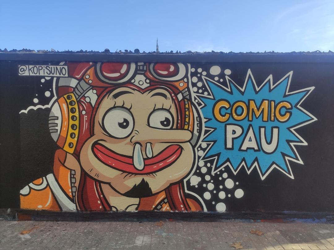 Wallspot - kopis - usopp - Barcelona - Agricultura - Graffity - Legal Walls - , ,