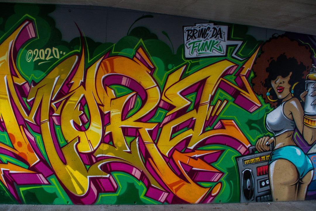 Wallspot - R.Irot - Big Mora - Tallinn - Laagri Spot - Graffity - Legal Walls - Letters