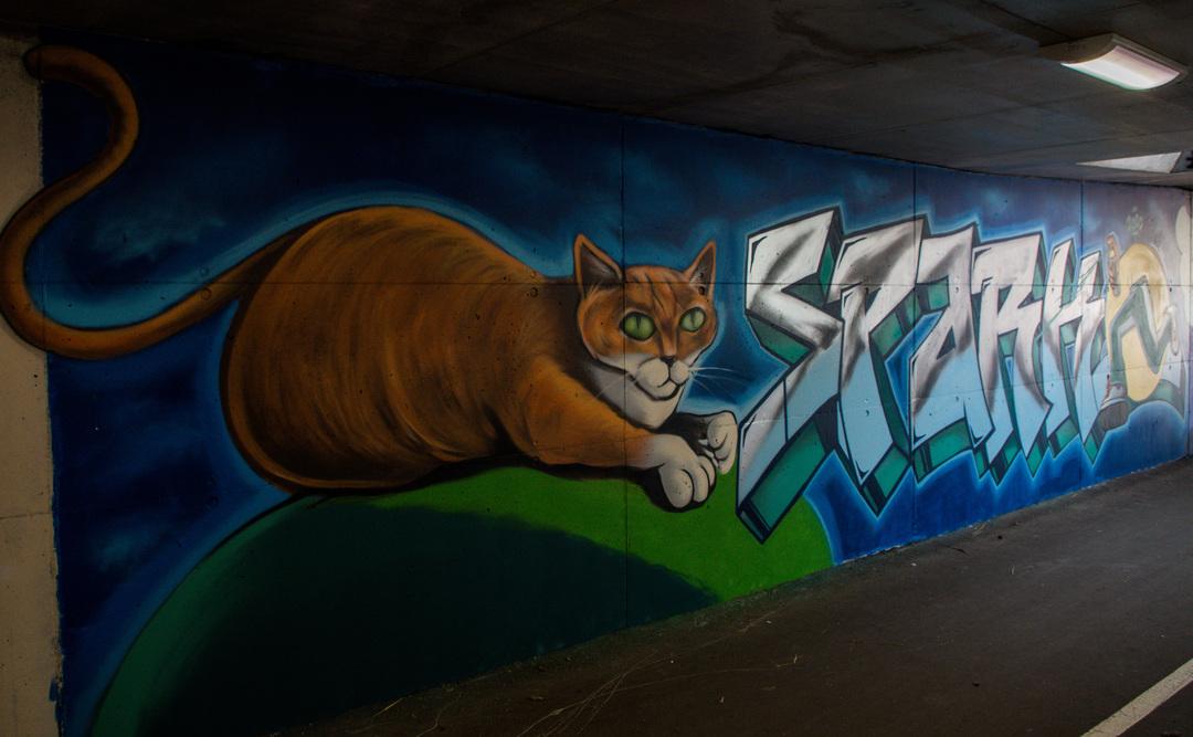 Wallspot - R.Irot - Spark - Tallinn - Laagri Spot - Graffity - Legal Walls -