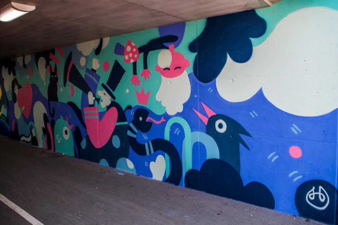 Wallspot - R.Irot - Sodacast - Tallinn - Laagri Spot - Graffity - Legal Walls - Illustration