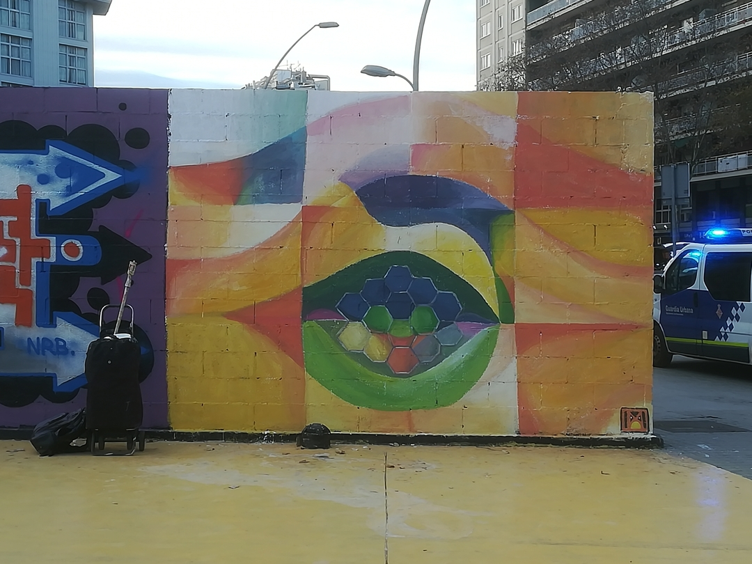 Wallspot - [MO] - Parallel wall - Barcelona - Parallel wall - Graffity - Legal Walls - Others