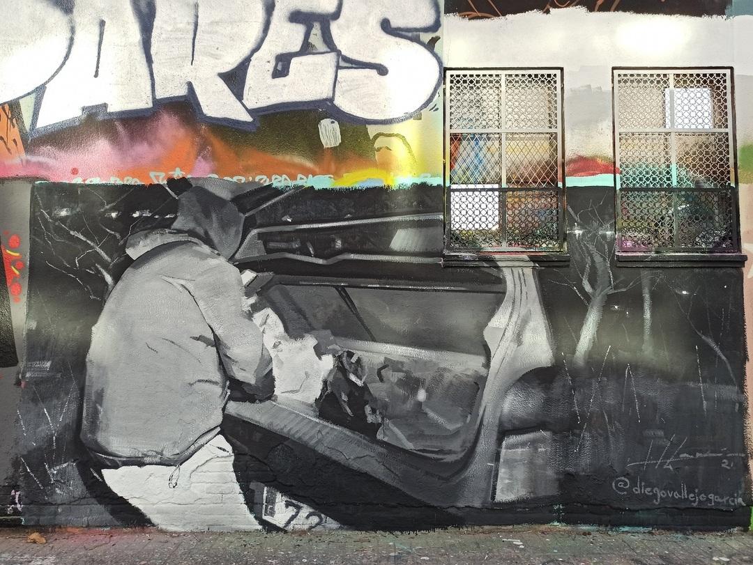 Wallspot - evalop - evalop - Project 02/02/2021 - Barcelona - Agricultura - Graffity - Legal Walls - Illustration - Artist - Diego Vallejo-García