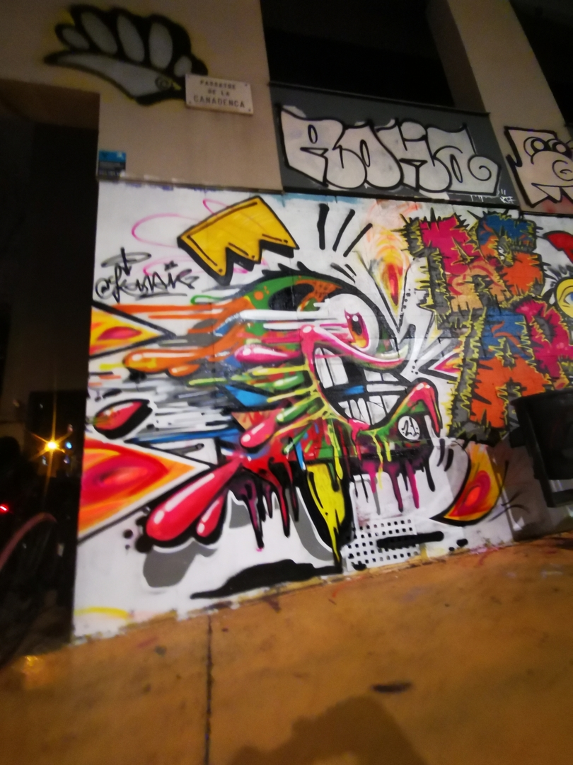 Wallspot - konair - ACAB coroba down - Barcelona - Parallel wall - Graffity - Legal Walls -