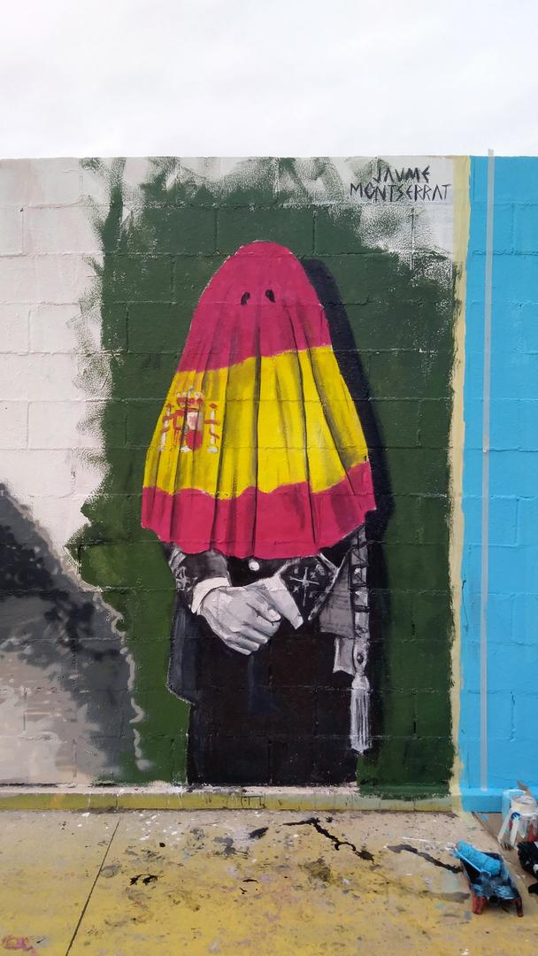 Wallspot - Jaume Montserrat - Tres Xemeneies - Jaume Montserrat - Barcelona - Tres Xemeneies - Graffity - Legal Walls - Illustration, Others