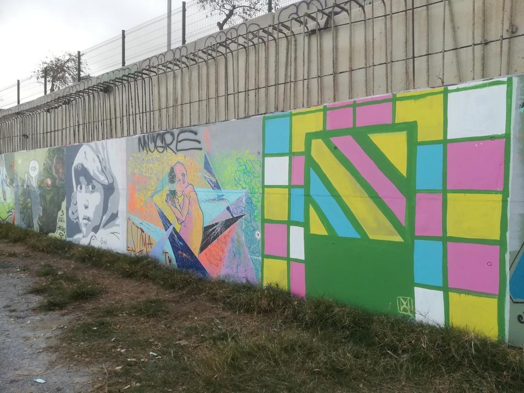 Wallspot - [MO] -  - Barcelona - Forum beach - Graffity - Legal Walls -