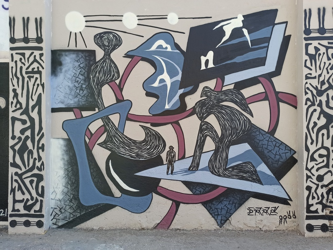 Wallspot - evalop - evalop - Project 16/03/2021 - Barcelona - Agricultura - Graffity - Legal Walls - Illustration - Artist - erratic