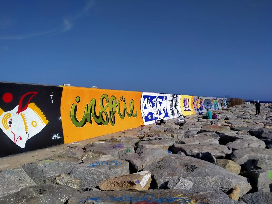 Wallspot - frangeppo -  - Barcelona - Forum beach - Graffity - Legal Walls - Letras
