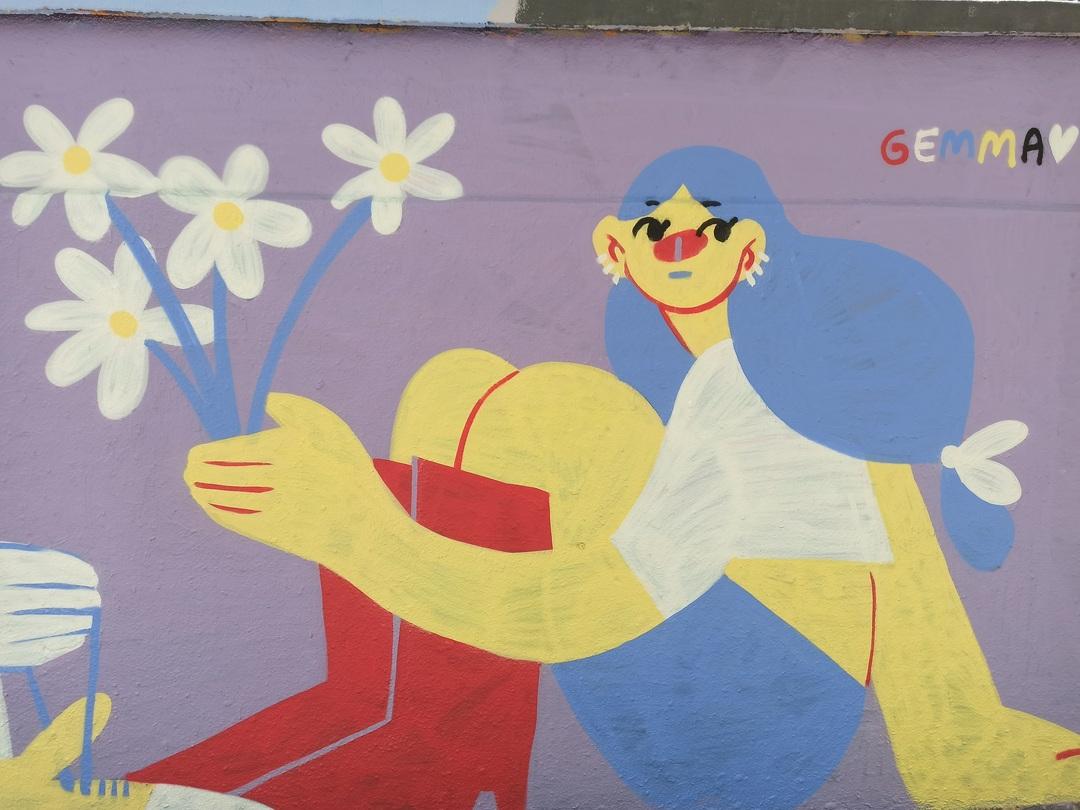Wallspot - evalop - evalop - Proyecto 17/04/2021 - Barcelona - Agricultura - Graffity - Legal Walls - Illustration - Artist - gemfontanals