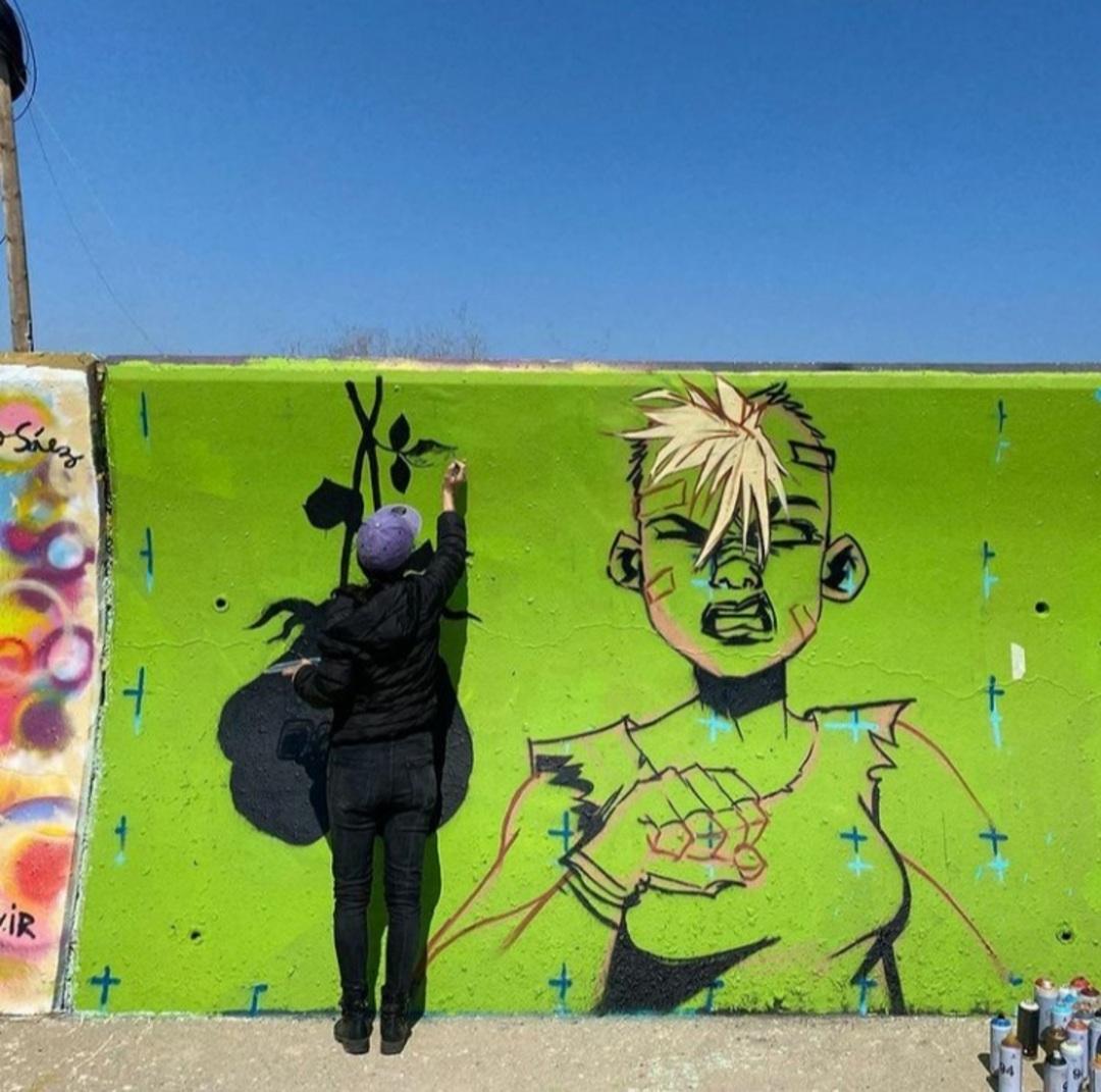 Wallspot - Magia Trece - Forum beach - MAGIA TRECE  - Barcelona - Forum beach - Graffity - Legal Walls - , ,