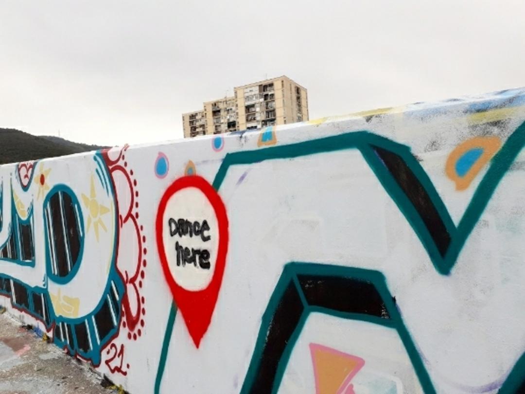 Wallspot - Deria rectificadora -  - Barcelona - El pont de la ronda - Graffity - Legal Walls -