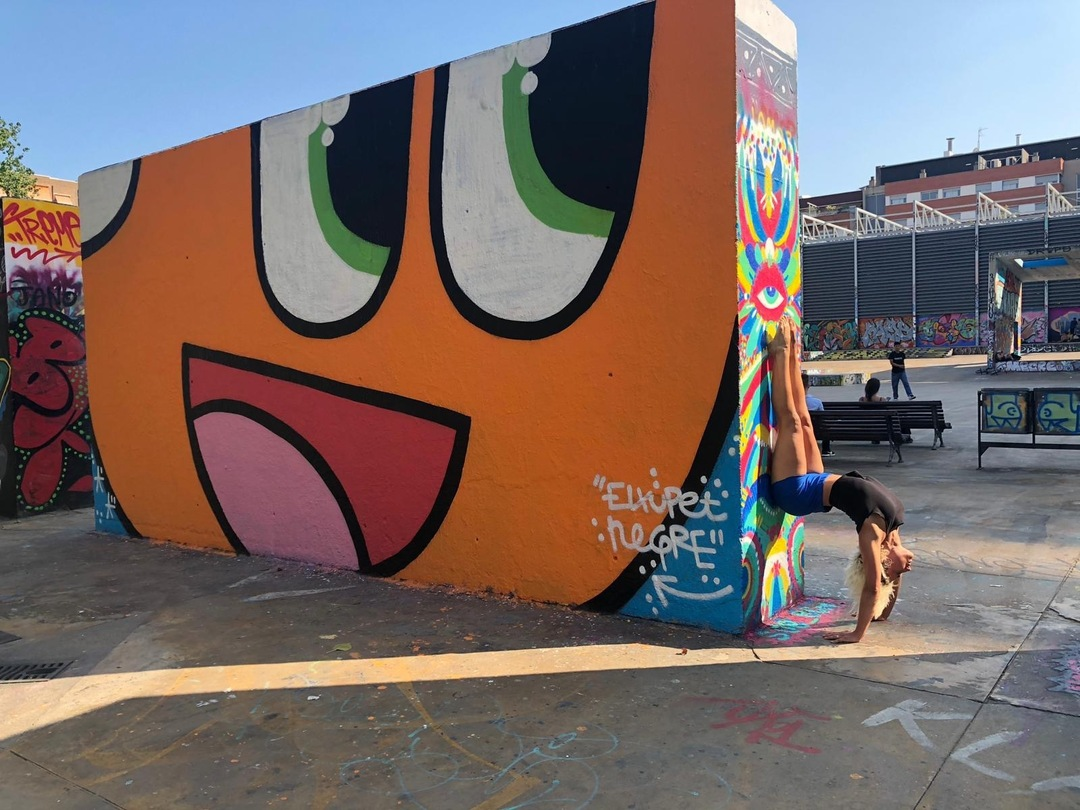 Wallspot - xupet - BIG FACE - Barcelona - Tres Xemeneies - Graffity - Legal Walls -