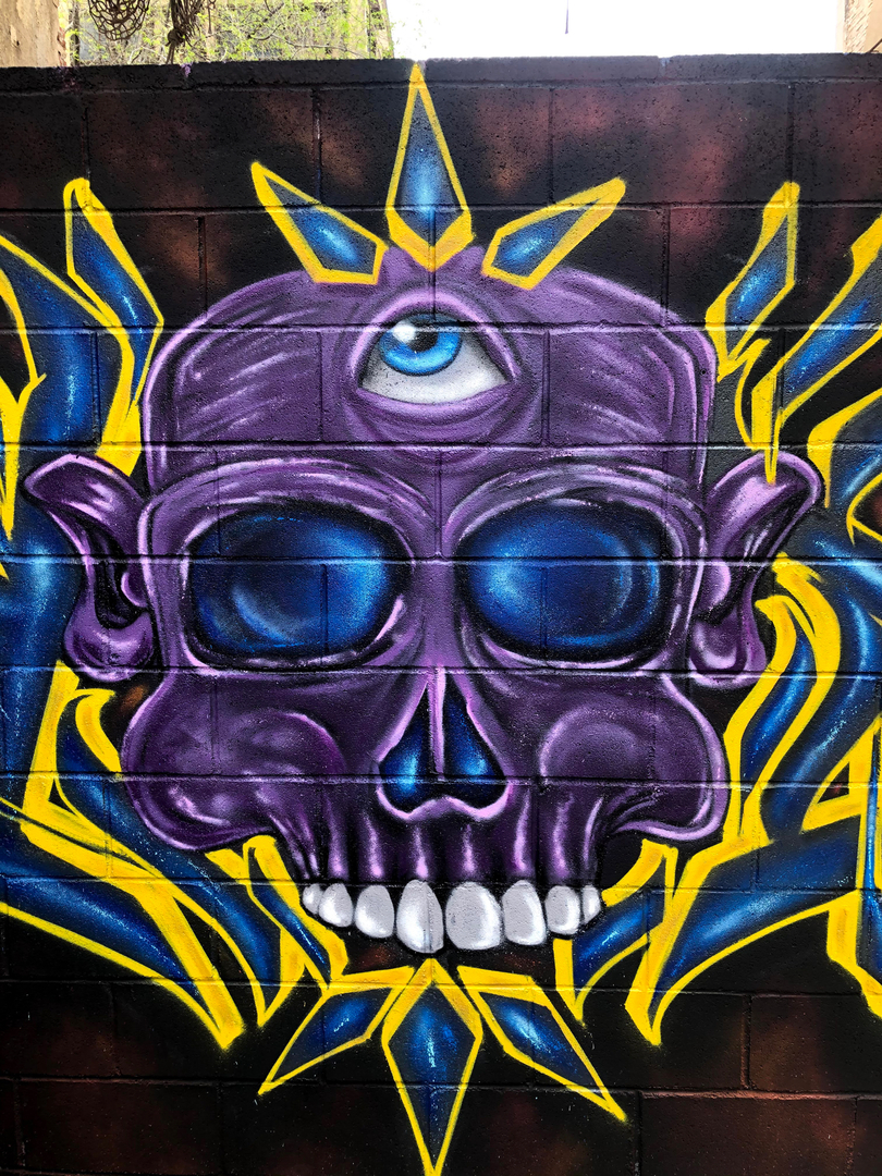 Wallspot - Crey one - Western Town - Barcelona - Western Town - Graffity - Legal Walls - Letters, Illustration