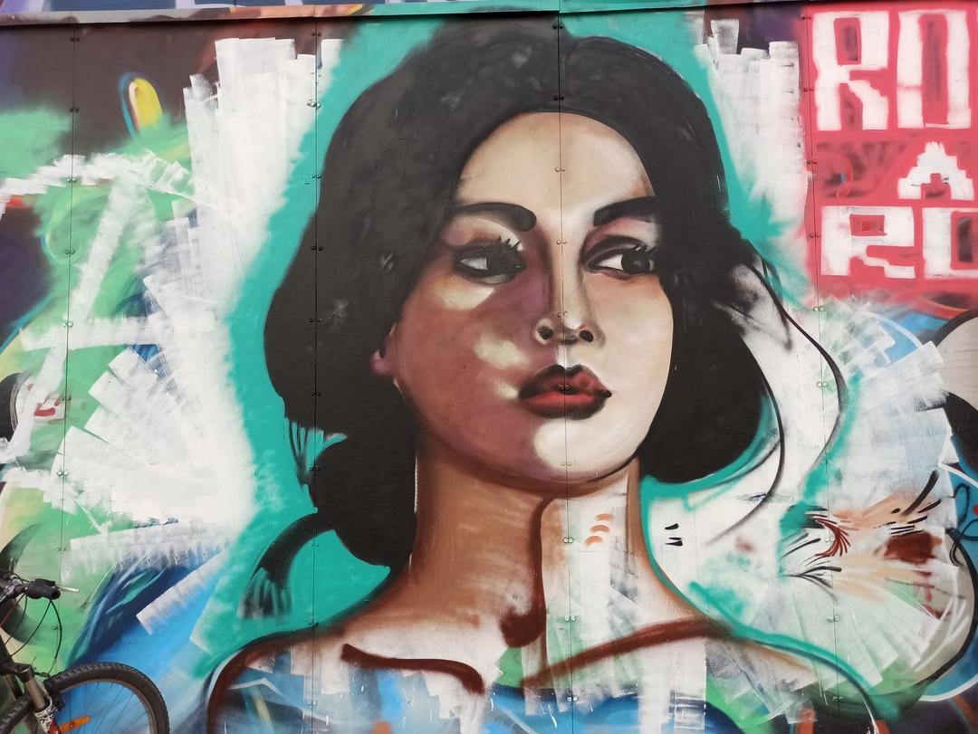 Wallspot - evalop - evalop - Proyecto 10/06/2021 - Barcelona - Tres Xemeneies - Graffity - Legal Walls - Il·lustració