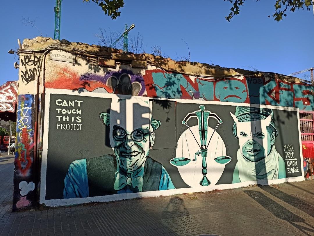 Wallspot - evalop - evalop - Proyecto 20/07/2021 - Barcelona - Western Town - Graffity - Legal Walls - Il·lustració - Artist - Magia Trece