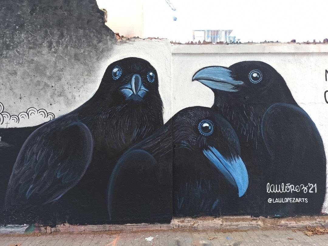 Wallspot - evalop - evalop - Proyecto 27/07/2021 - Barcelona - Agricultura - Graffity - Legal Walls - Illustration