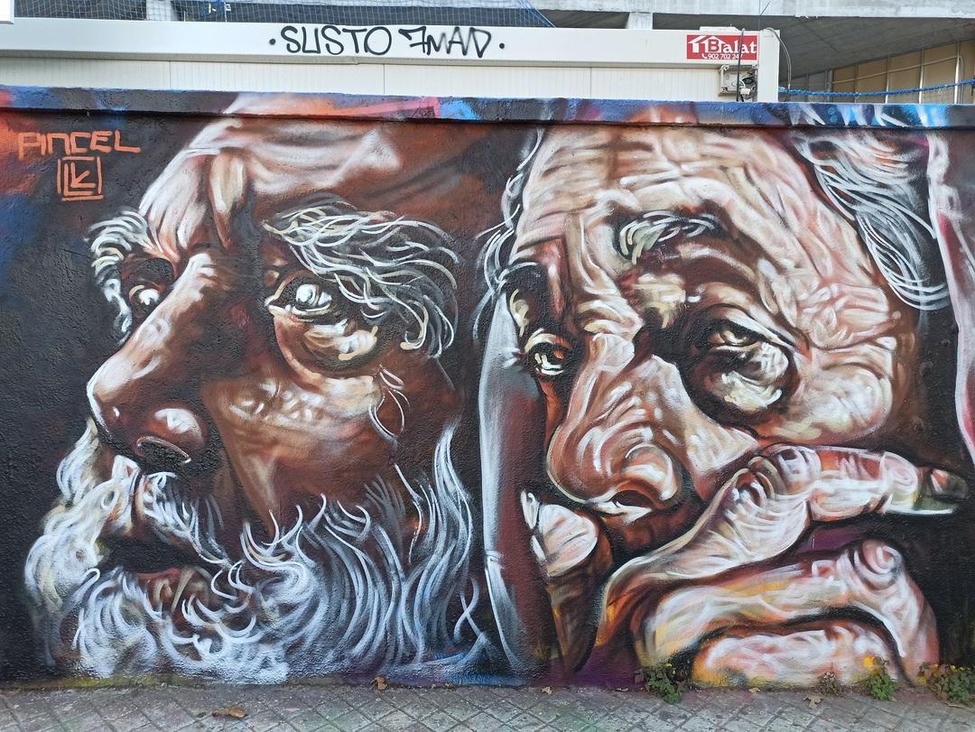 Wallspot - evalop - evalop - Proyecto 28/07/2021 - Barcelona - Agricultura - Graffity - Legal Walls - Illustration - Artist - Felipe pincel art