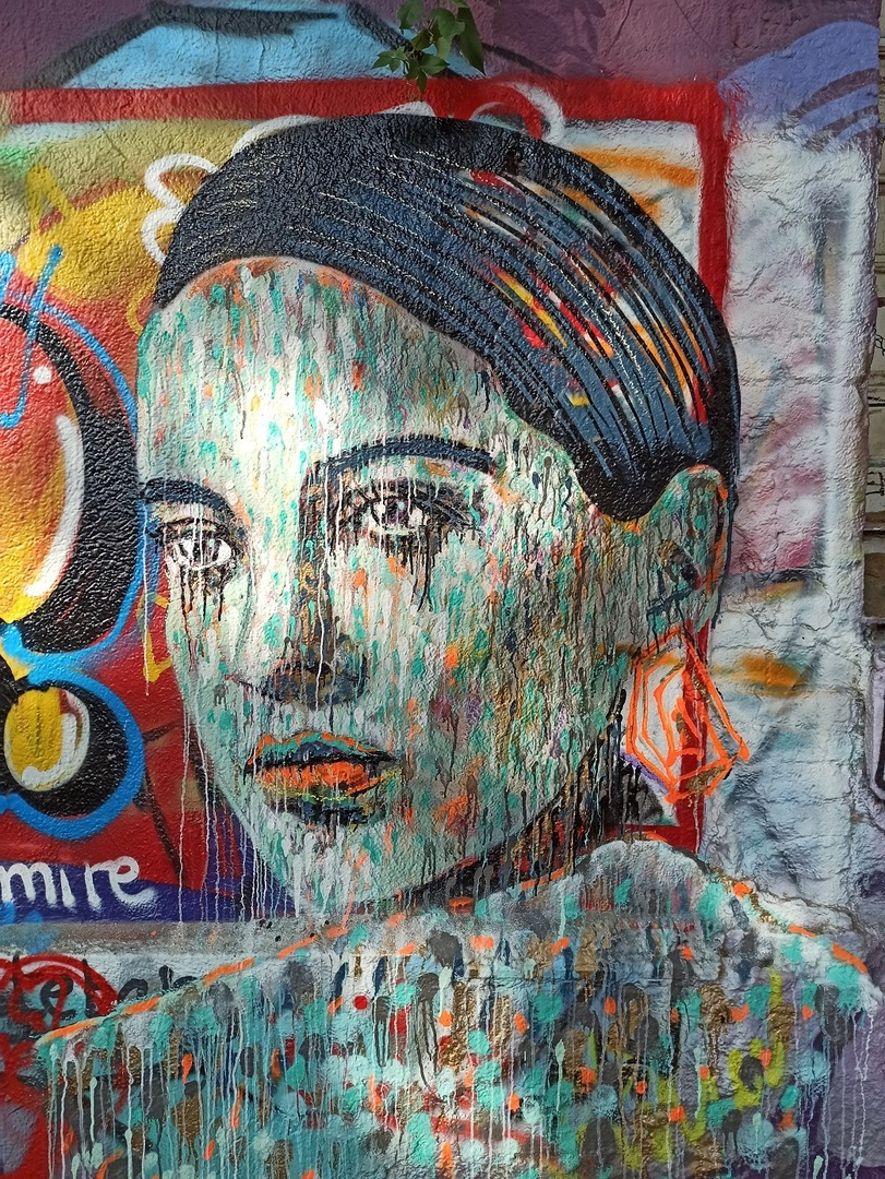 Wallspot - evalop - evalop - Proyecto 03/08/2021 - Barcelona - Western Town - Graffity - Legal Walls - Illustration - Artist - martinmonet/ceciliastenmark