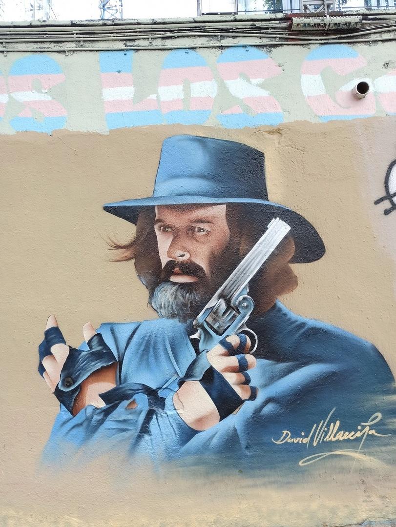 Wallspot - evalop - evalop - Proyecto 09/08/2021 - Barcelona - Selva de Mar - Graffity - Legal Walls - Illustration - Artist - David Villaecija