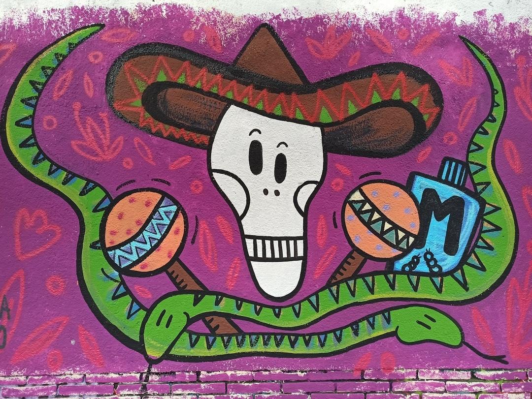 Wallspot - evalop - evalop - Project 17/08/2021 - Barcelona - Selva de Mar - Graffity - Legal Walls - Illustration - Artist - Marinavallo