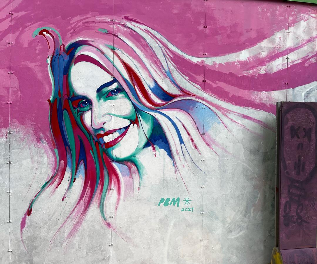 Wallspot - BCN Urban Art - Pere Blanco Molina al Parc de les tres Xemeneies  - Barcelona - Tres Xemeneies - Graffity - Legal Walls -