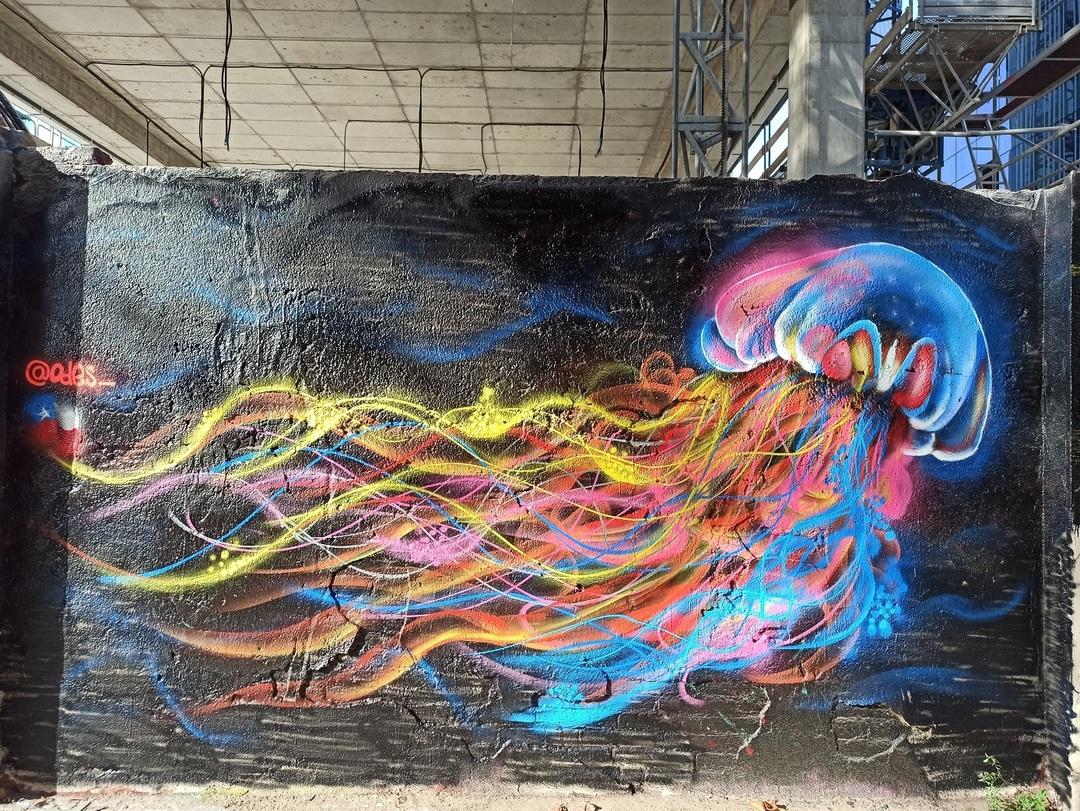 Wallspot - evalop - evalop - Project 08/09/2021 - Barcelona - Selva de Mar - Graffity - Legal Walls -  - Artist - odes