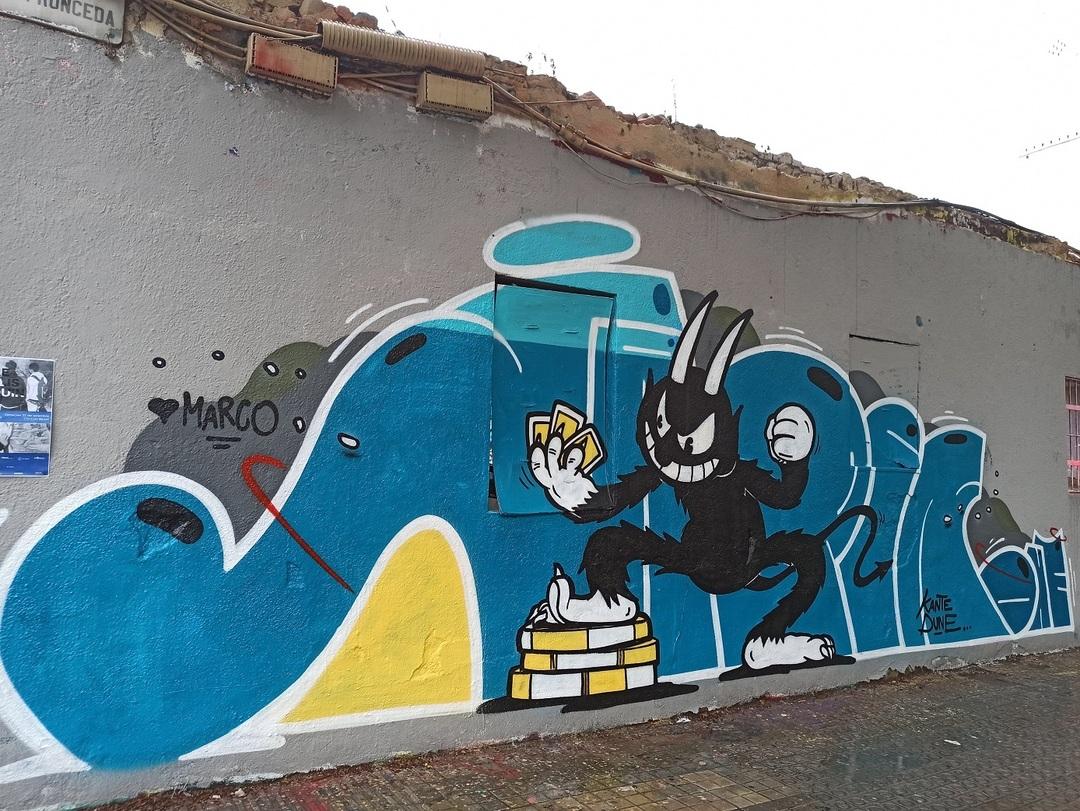 Wallspot - evalop - evalop - Project 23/09/2021 - Barcelona - Western Town - Graffity - Legal Walls - Ilustración