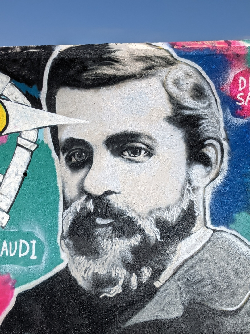 Wallspot - DREAM SAFARI - GAUDI - Forum beach - Barcelona - Forum beach - Graffity - Legal Walls - Lletres, Il·lustració