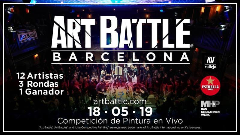 Wallspot Post - Art Battle Barcelona