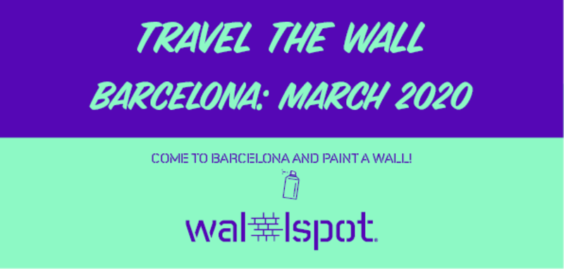 Wallspot Post - Travel The Wall Barcelona 2020
