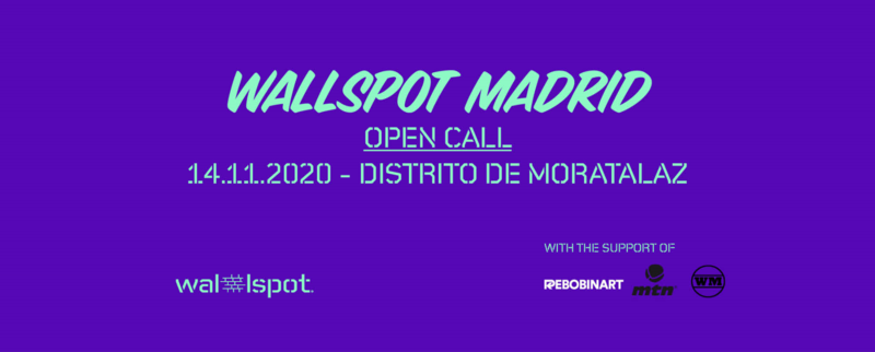 Wallspot Post - WALLSPOT ARRIVES IN MADRID WITH A LEGAL WALL!