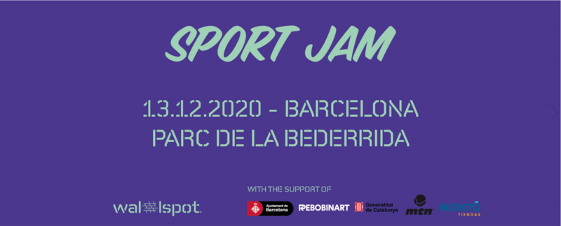 Wallspot Post - SPORT JAM BARCELONA