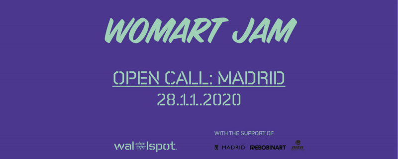 Wallspot Post - WOMART JAM - MADRID