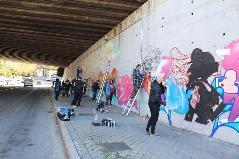 Wallspot Post - Wallspot inaugura els primers murs lliures a Madrid