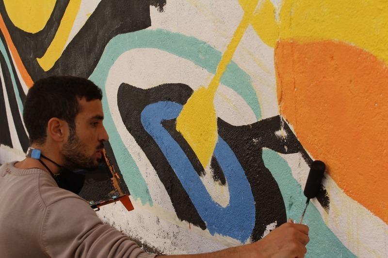 Wallspot Post - Wall Lab by Inventura, Eloise Gillow, Maru RZ & Zaick