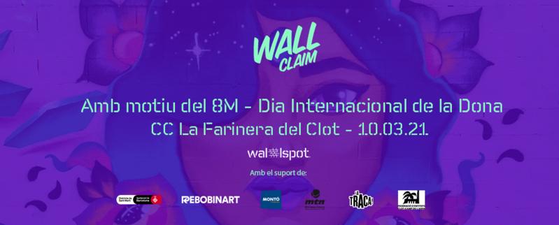 Wallspot Post - Wall Claim 8M
