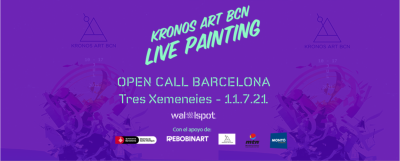 Wallspot Post - KRONOS ART LIVE PAINTING