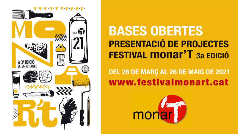 Wallspot Post - CALL FOR THE 3rd EDITION OF THE MONAR'T FESTIVAL