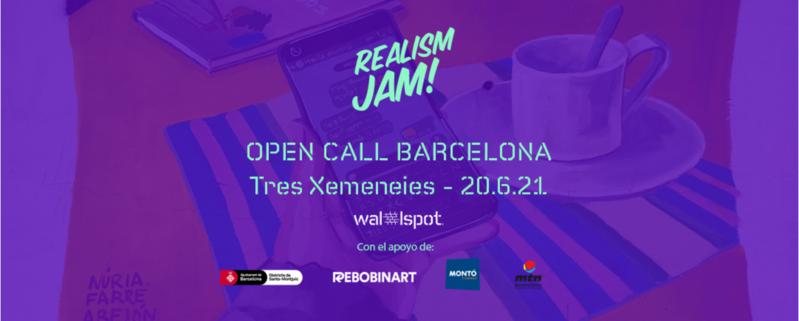 Wallspot Post - Open Call REALISM JAM
