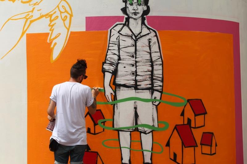 Wallspot Post - Wall Claim by Santiago Elefante - 20J