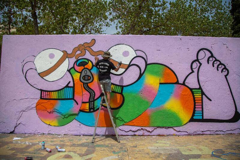 Wallspot Post - Kronos Live Painting 2021