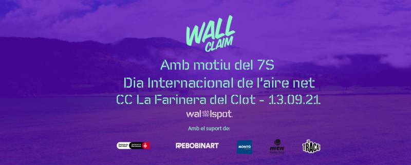 Wallspot Post - Wall Claim - Dia de l'Aire Net
