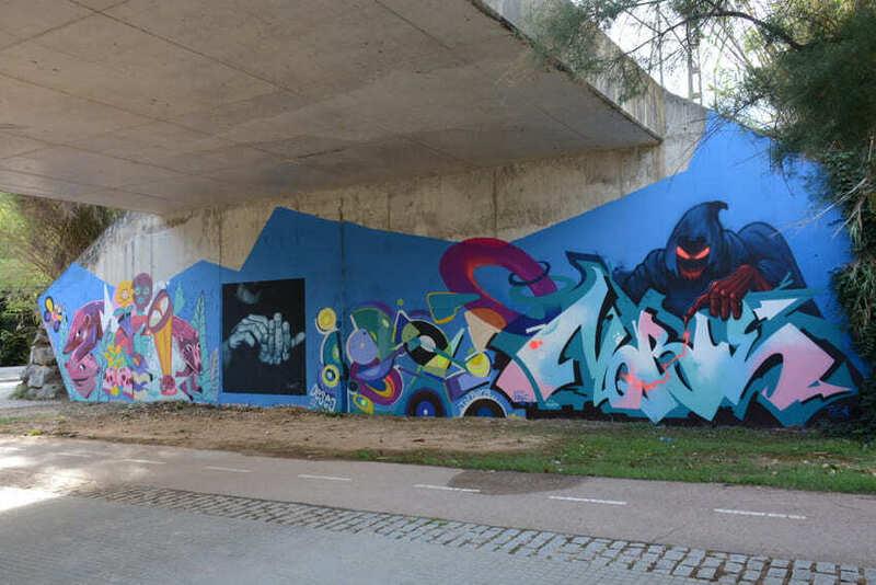 Wallspot Post - Bridge JAM - St.Cugat