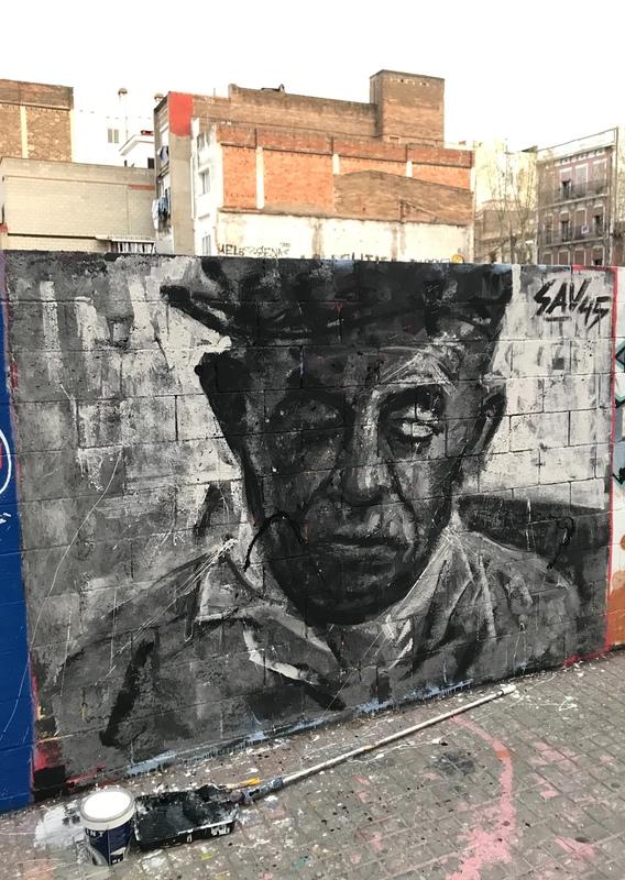 Wallspot - savf - Poble Nou - savf - Barcelona - Poble Nou - Graffity - Legal Walls - Otros