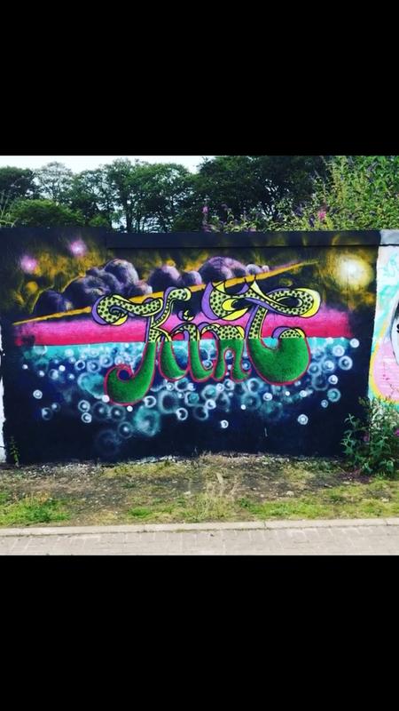 Wallspot - kinc - Kinc @ Donside - Aberdeen - Donside Village - Graffity - Legal Walls - Letters, Illustration