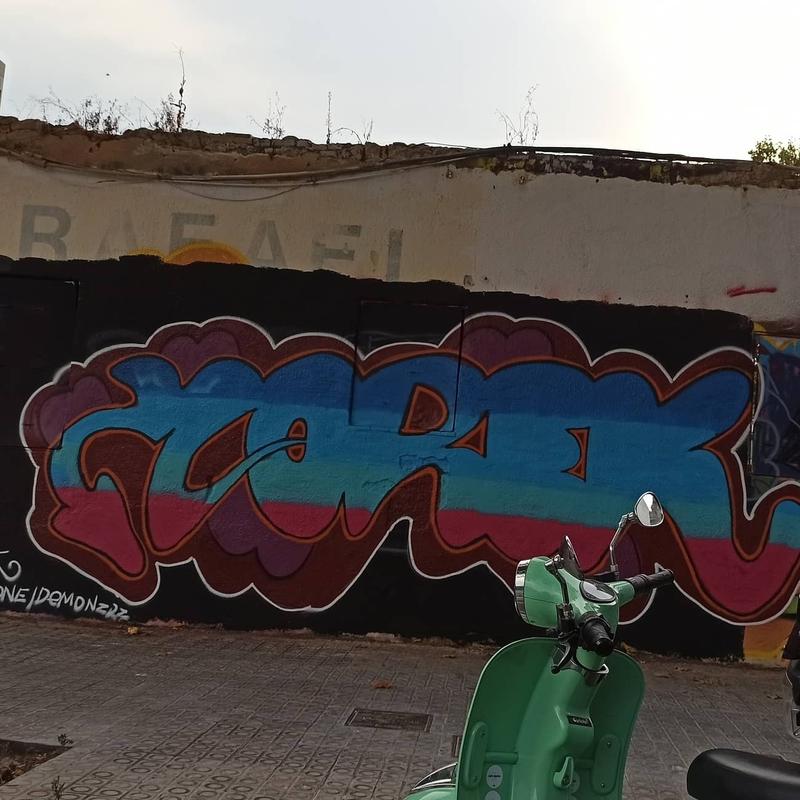 Wallspot - Norek - Barcelona - Western Town - Graffity - Legal Walls -
