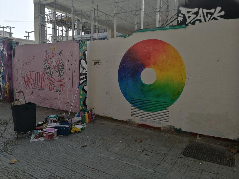 Wallspot - Oniric. Omnia - Omnia cicle - Barcelona - Selva de Mar - Graffity - Legal Walls -