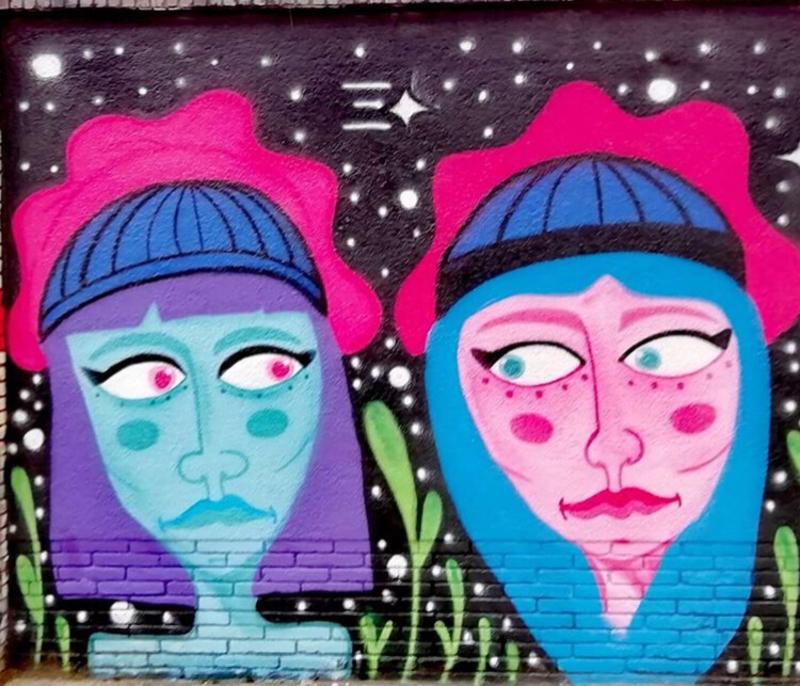 Wallspot - ama01 - Barcelona - Selva de Mar - Graffity - Legal Walls -