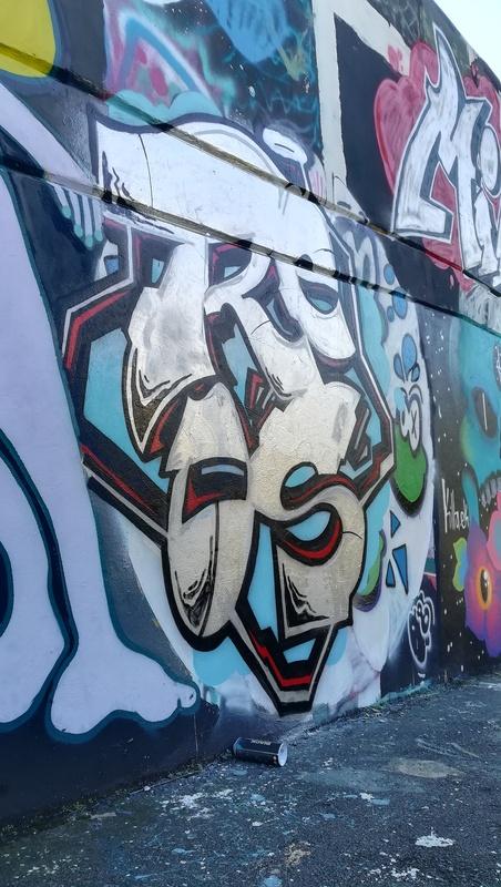 Wallspot - REOS OVZ - El pont de la ronda - REOS OVZ - Barcelona - El pont de la ronda - Graffity - Legal Walls - Lletres
