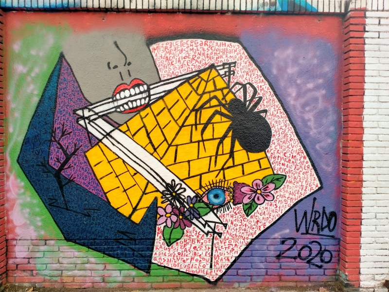 Wallspot - Wrdo - Barcelona - Selva de Mar - Graffity - Legal Walls -