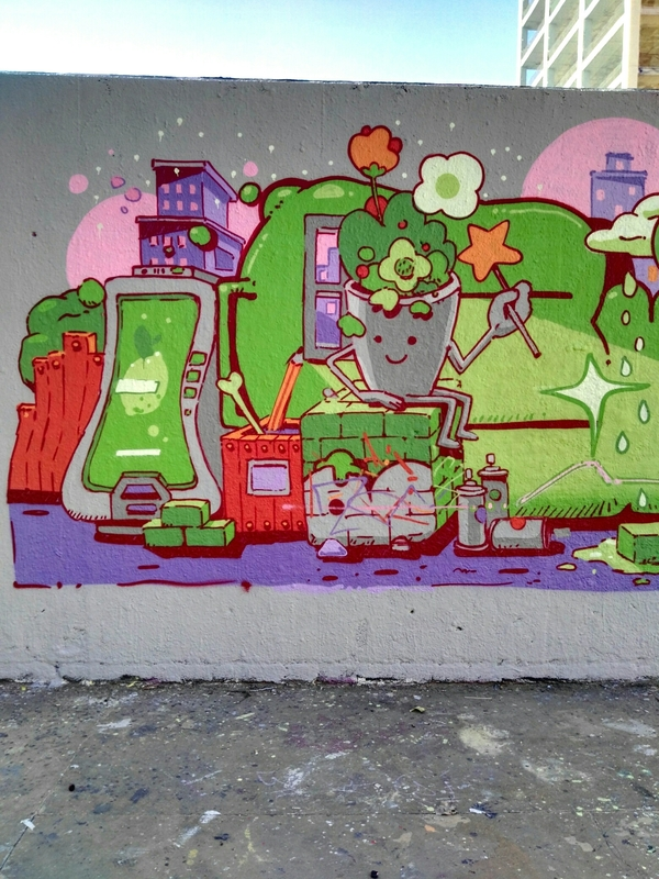 Wallspot - bemie - Tres Xemeneies - Barcelona - Tres Xemeneies - Graffity - Legal Walls - , ,